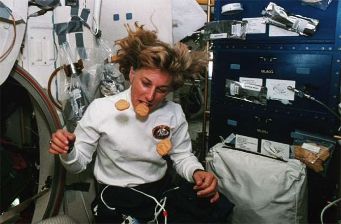 what did astronauts eat in space - photo #46